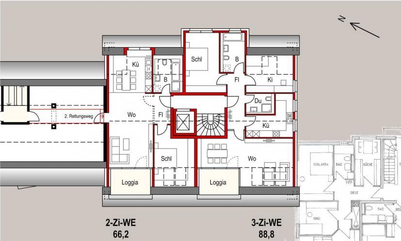 Neubau 11 We In Stuttgart Unterturkheim Architektengruppe Kwp Kist Waldmann Partner